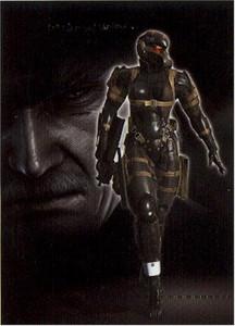 Metal Gear Solid 4 Wallscroll #374