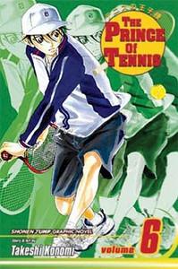 Prince of Tennis Graphic Novel 06