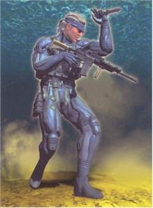 Metal Gear Solid 4 Wallscroll #187