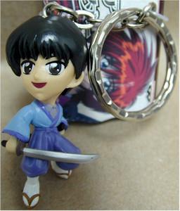 Rurouni Kenshin Keychain Figure #43079C