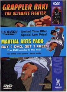 Martial Arts Pack: Ayane's High Kick/Grappler Baki DVD USED
