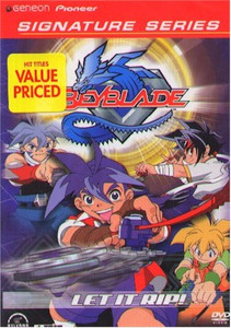 Beyblade DVD Vol. 01 (Signature Series) (Used)