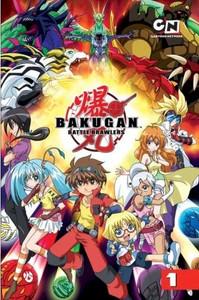 Bakugan Graphic Novel Vol. 01 The Battle Begins