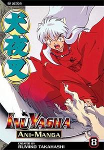 Inuyasha Ani-Manga Vol. 08