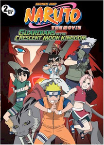 Naruto Movie - Guardians of the Crescent Moon Kingdom DVD