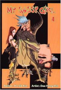 My Sassy Girl Graphic Novel Vol. 04