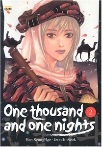 One Thousand and One Nights Graphic Novel 02