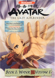 Avatar DVD Book 1: Water Vol. 01