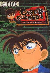 Case Closed DVD Case 5 Starter Set