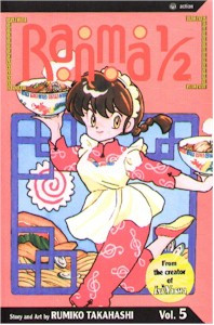Ranma 1/2 2nd Edition Graphic Novel Vol. 05