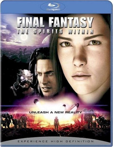 Final Fantasy The Spirits Within Blu-ray