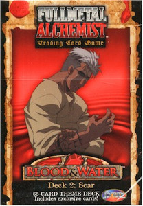 Fullmetal Alchemist TCG Blood & Water Starter Deck 2 Scar