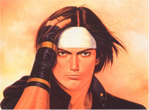 King of Fighters Wallscroll #127