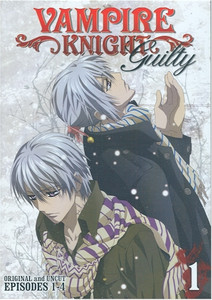 Vampire Knight Guilty DVD Vol. 01