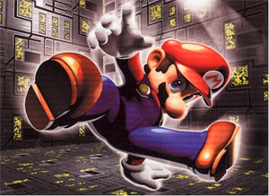 Super Mario Brothers Wallscroll #309