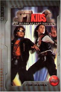 Spy Kids 2 Cine-manga