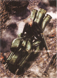 Final Fantasy VII Advent Children Wallscroll #209