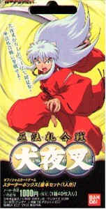 Inuyasha Official Card Game Box (40)