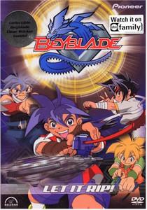 Beyblade DVD Vol. 01