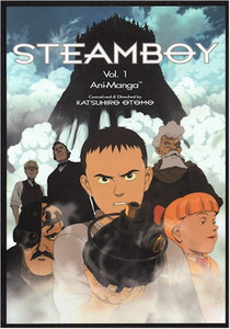 Steamboy Ani-Manga Vol. 01