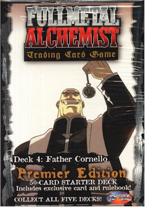 Fullmetal Alchemist TCG Starter Deck 4 Father Cornello