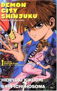 Demon City Shinjuku Graphic Novel Vol. 01