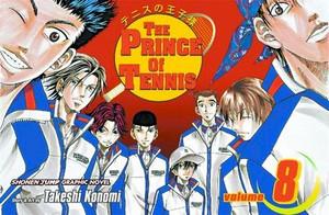 Prince of Tennis Graphic Novel 08