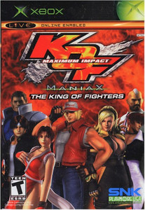 KOF Maximum Impact Maniax (XBOX)