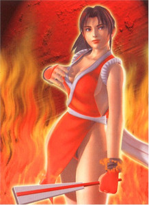 King of Fighters Wallscroll #197