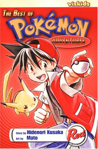 Best of Pokemon Adventures Graphic Novel Red