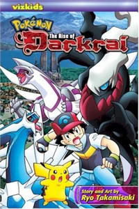 Pokemon the Rise of Darkrai Graphic Novel