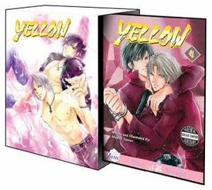 Yellow Graphic Novel 04 with Art Box