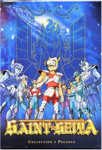 Saint Seiya DVD Collector's Edition with Vol. 01