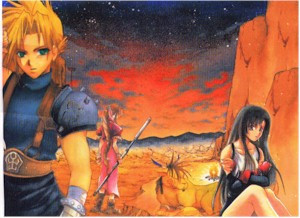 Final Fantasy VII Wallscroll #295