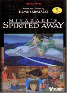Spirited Away Graphic Novel Vol. 05