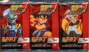 Dragon Ball GT TCG Baby Saga Booster Deck Set