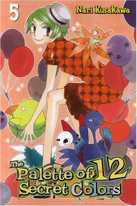 Palette of 12 Secret Colors Graphic Novel 05