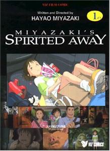 Spirited Away Graphic Novel Vol. 01