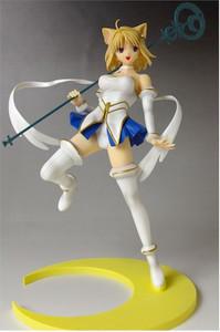 Tsukuyomi White Tsuki-Hime Fantasmoon Eclipse PVC Figure