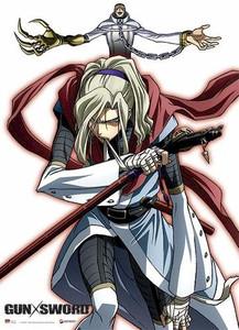 Gun Sword Wallscroll #9753