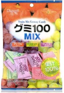 Gummy Candy Mixed (Grape  Muscat  Apple)
