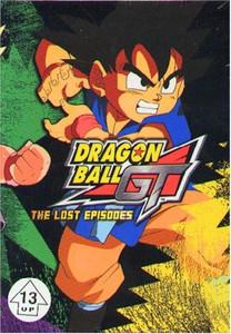 Dragon Ball GT Lost Episodes DVD Starter Set