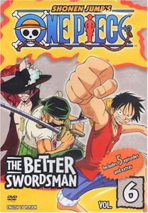 One Piece DVD 06 The Better Swordsman