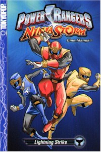Power Rangers Ninja Storm Cinemanga: Lightning Strike