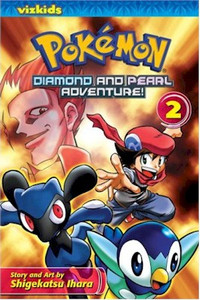 Pokemon Diamond and Pearl Adventure Graphic Novel 02