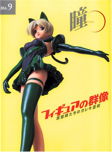 Hitomi No. 9 Figure Collection Art Book