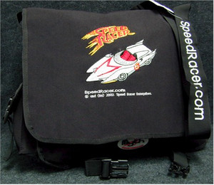 Speed Racer Courier Bag (Black)