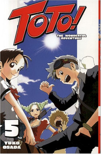 Toto! The Wonderful Adventure Graphic Novel 05