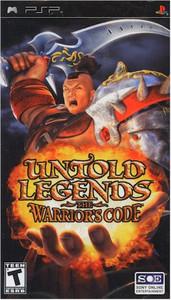 Untold Legends The Warrior's Code (PSP)