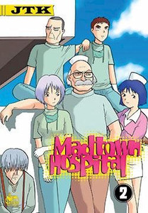 Madtown Hospital Graphic Novel 02